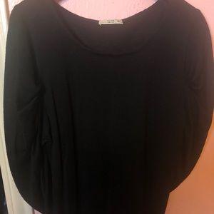 Prada ruched-sleeve sweater